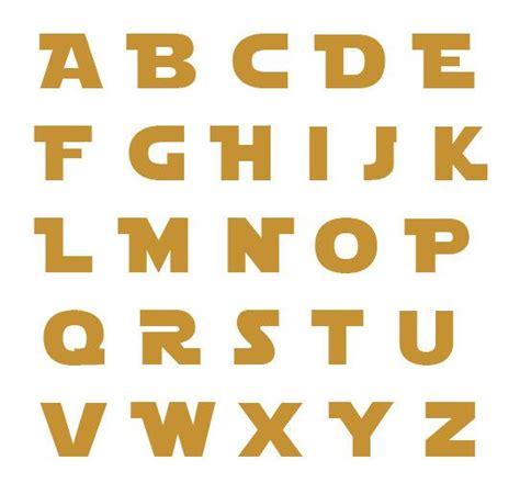 stencil lettere alfabeto da stare 1000 ideas about wars font on wars