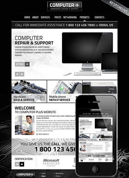 joomla themes computer repair pc repair joomla template 3 5 version id 300111695