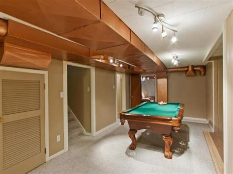 paint the ductwork in basements great idea for the