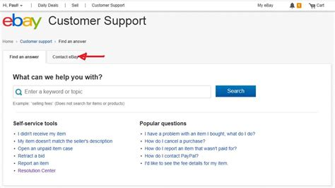 ebay helpline is it possible to contact ebay support via email r