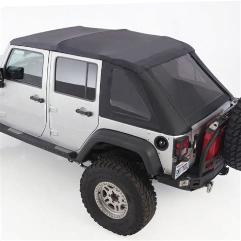 2013 Jeep Wrangler Unlimited Soft Top Kit by Smittybilt Combo Complete Soft Top Kit For Jeep Wrangler