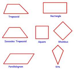 Interior Angles Of A Trapezium Pin Types Of Quadrilaterals On Pinterest