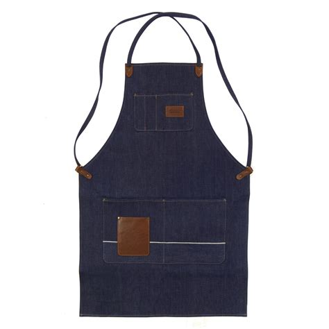 winston apron selvage denim red clouds collective