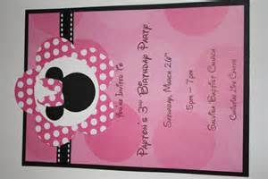 minnie mouse birthday invitations 10 ct