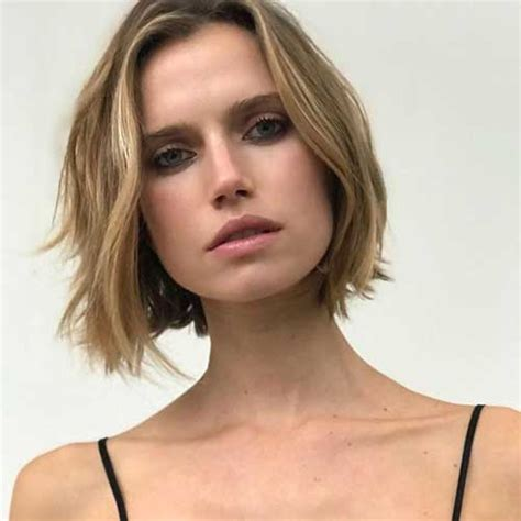 blunt cut hairstyles round faces short haircuts for round face shape short hairstyles