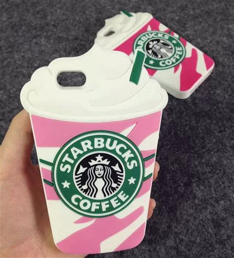 3d Silicone Starbuck Coffee Cup Casing For Iphone 5 5 starbucks 3d silicone coffee cup phone cover for iphone 5s 6plus samsung s8