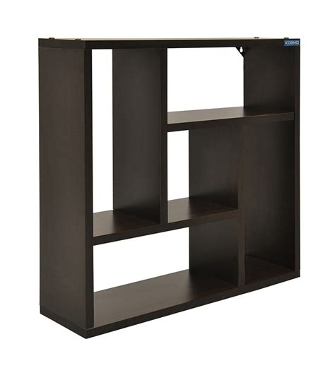 wall shelves pepperfry spacewood levia wall unit by spacewood online wall