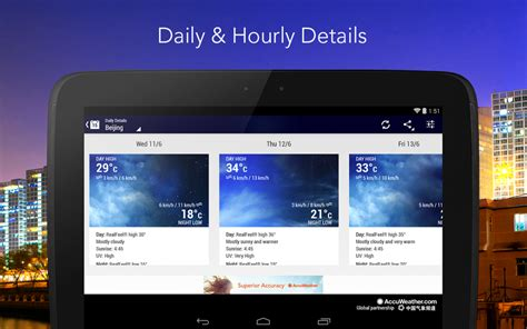 accuweather app for android free 6 best free weather apps for android