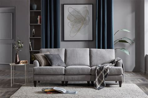 colour curtains   charcoal grey sofa review