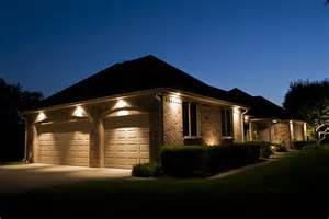 Exterior Garage Lighting by Garage Door White Matte Outside Recessed Lighting Grass