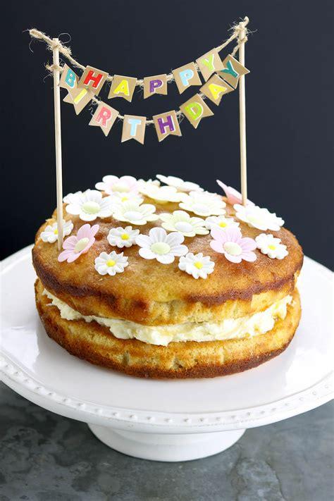 lemon drizzle birthday cake   food blog