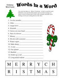 Christmas Word Games For Groups » Home Design 2017