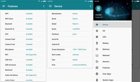 my android device my device the best system information app for android ghacks technology news howldb