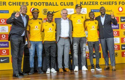 kaizer chiefs unveil new players the citizen