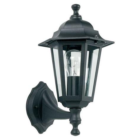 Yg 2000 Outdoor Wall Light In Black Outdoor Black Light