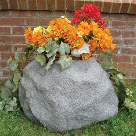 Rock Planters by Blossom Boulders Faux Rock Planters The Green
