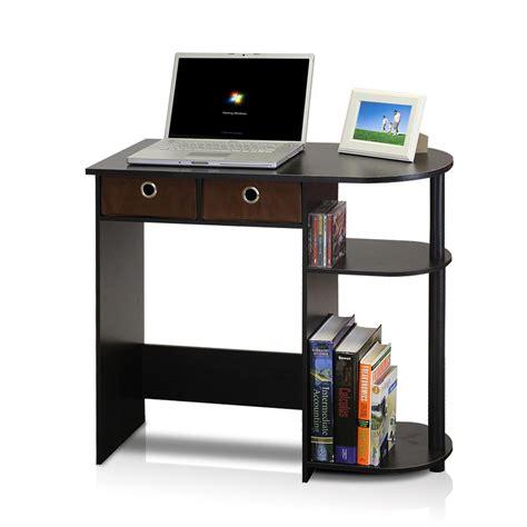 Llytech Inc Go Green Espresso Computer Desk With Bin Espresso Computer Desk