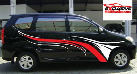 Lu All New Avanza modification xenia modification xenia march 2015 exclusive modification car