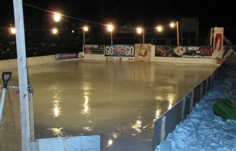 backyard rink lighting best backyard rink billings ave