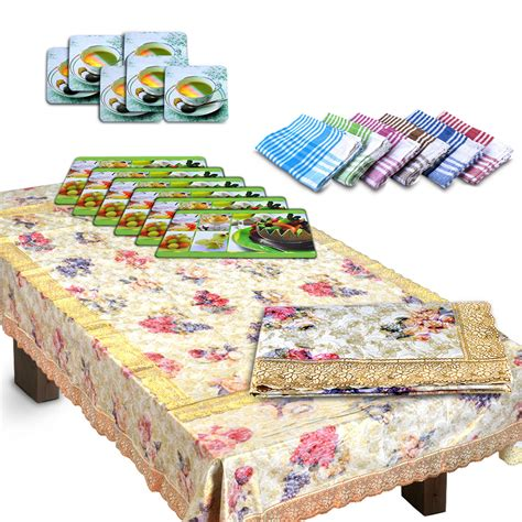 dining table cover set buy luxury 20 pcs dining table cover set at