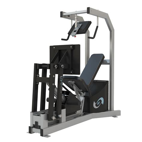 exerbotics equipment leg press