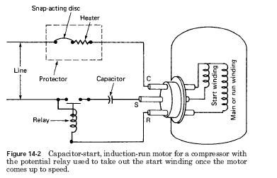 refrigeration refrigeration current relay