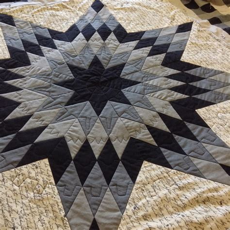 black and white star quilt pattern solar threads blogger s quilt festival steam punk lone