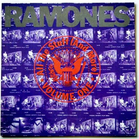 all stuff ramones all the stuff and more volume one lp x 2