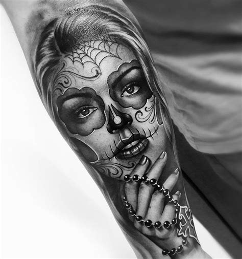 girl sugar skull tattoo best 25 sugar skull ideas on sugar skull