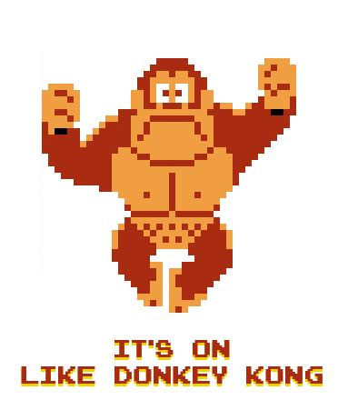 Kong And Post It Notes Form Classic Work Of by It S On Like Kong Via Vgn G G It8bit