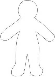 Large Paper Doll Template by Free Paper Doll Template Eclectic