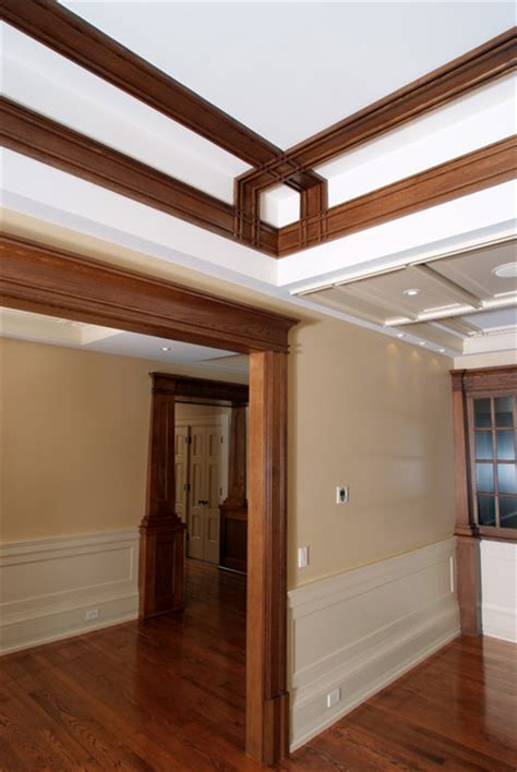 Craftsman Ceiling Trim by Architectual Elements Craftsman Molding And Trim