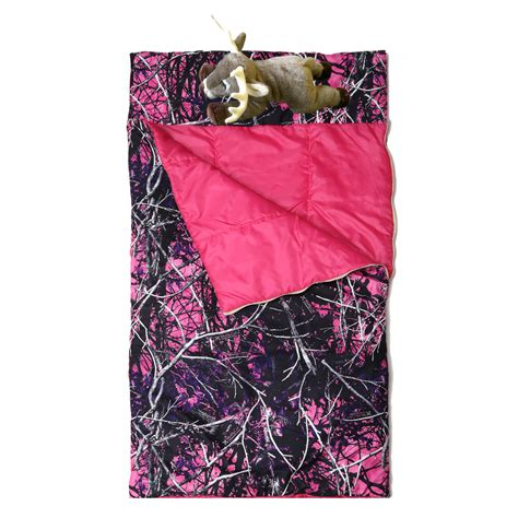 muddy girl camo bedding muddy girl bedding muddy girl slumberbag with deer pillow camo trading