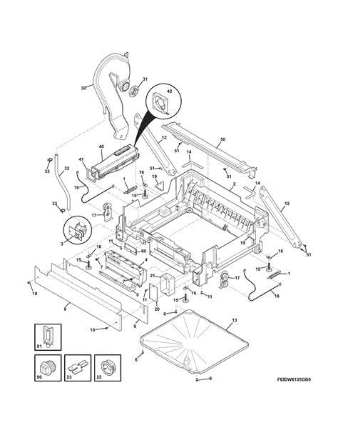 electrolux parts diagram electrolux dishwasher wiring diagram get free image
