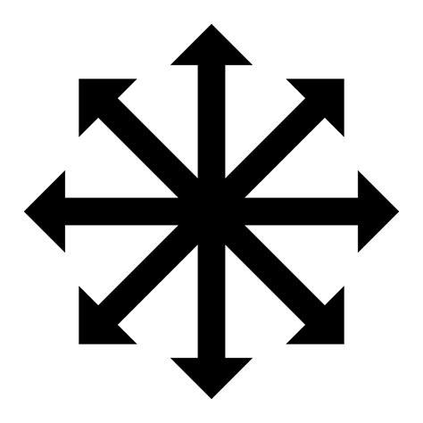 Kaos White Arrow symbol of chaos