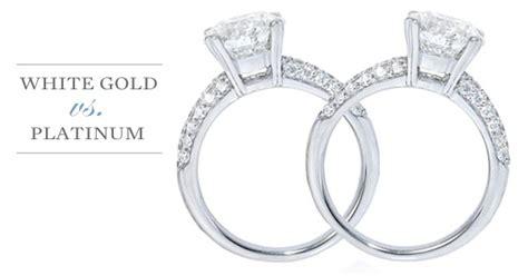 white gold vs platinum engagement ring urlifein pixels