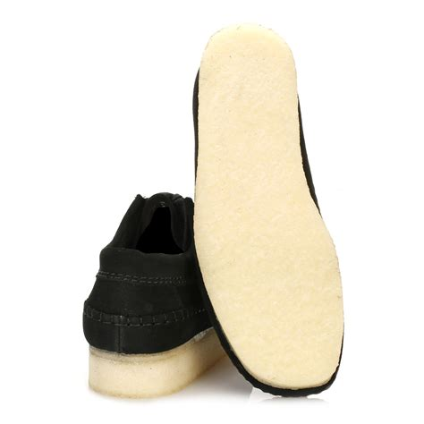 Sepatu Murah Kickers Casual Mocassin Mix Suede Navy clarks mens black mocassin weaver suede high crepe sole lace up casual shoes ebay