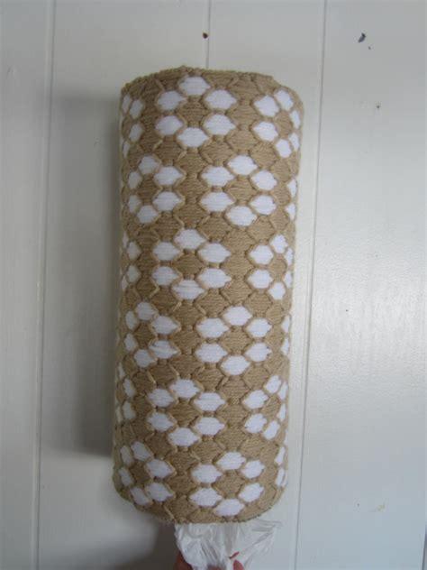 Handmade Plastic Bag Holder - handmade pretty posies flowers plastic grocery bag holder