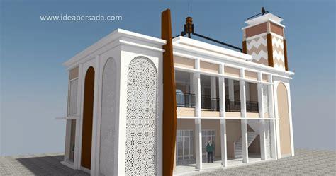 idea persada arsitektur desain desain masjid kampus tedc