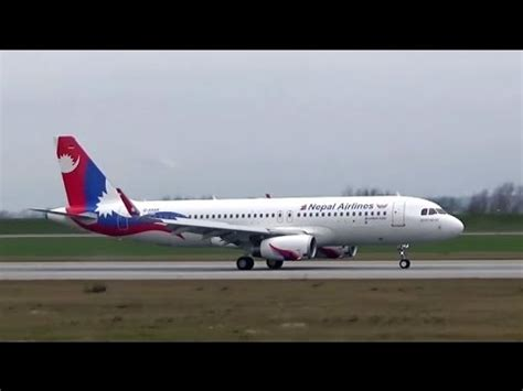 Bajura Kolti Airport nepal airlines airbus a320 has arrived kathmandu nepal hamburg germany
