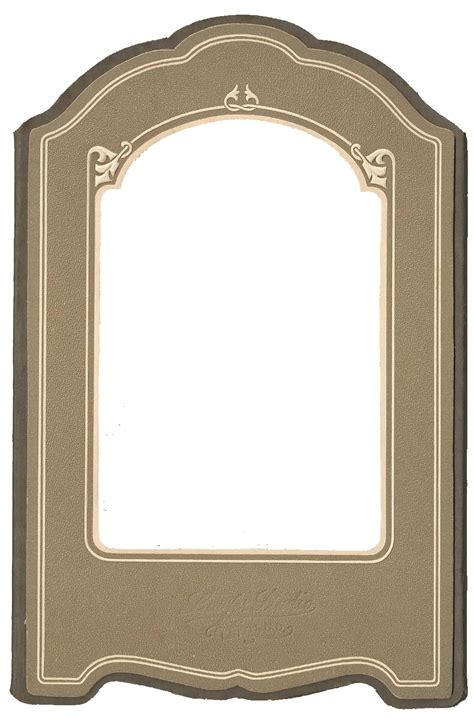 Frame And Matting by Vintage Photo Mat Frame Printable From Knickoftime Net