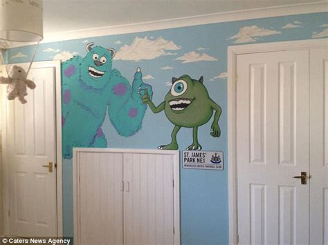 monsters inc room decor monsters inc bedroom ideas photos and