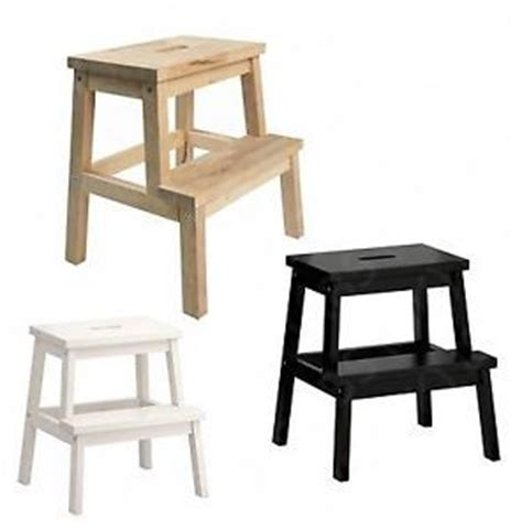 wooden step stool ikea details about ikea bekvam solid beech wood kitchen