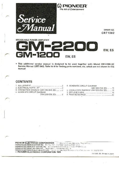Free Download Gm 2200 Service Manual Programs Amahelper