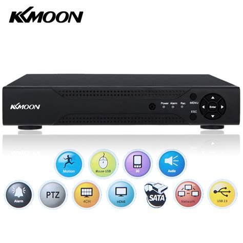 Dvr Cctv 16ch Spc aliexpress buy kkmoon 4 channel 1280 720p cctv network dvr h 264 hdmi dvr hvr nvr recorder