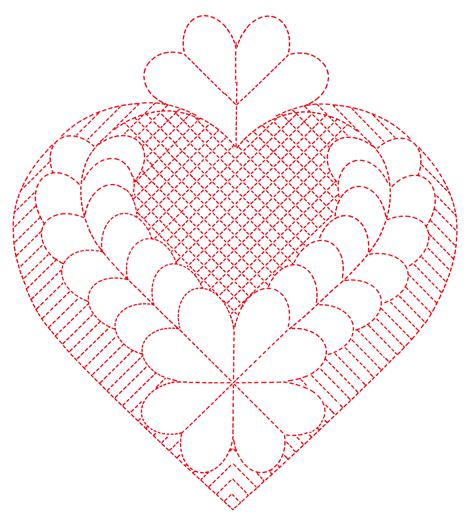 pattern for heart applique heart quilting patterns q is for quilter