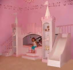 Princess Bunk Bed With Slide Princess Castle Bed With Slide Home Design Inside