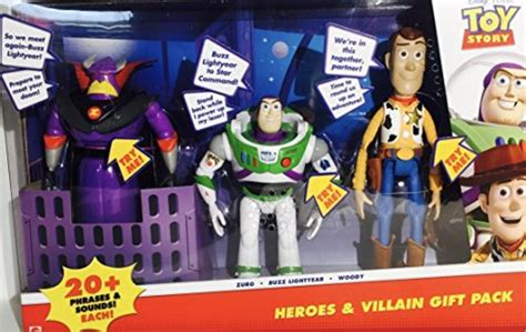 Mainan Anak Robot Buzz Light Year Toys Story 4 Termurah store story heroes villain gift pack zurg buzz lightyear woody