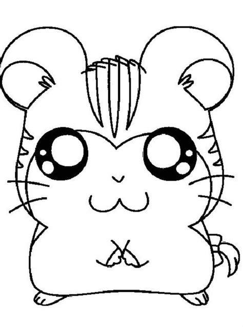 cute hamster coloring pages printable cute hamster coloring pages coloring home