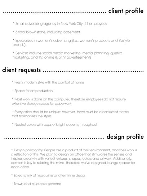 client  design profile design client profile guerilla marketing design